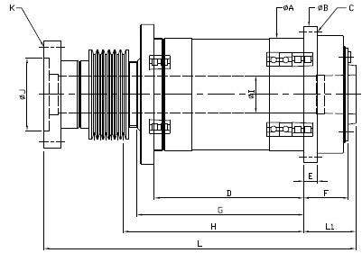 g1mk460车床电路图